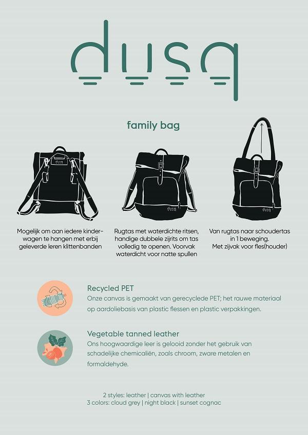 dusq familybag uitleg