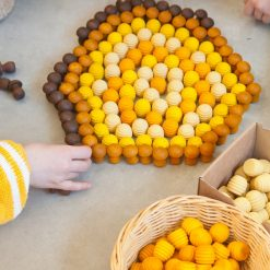 Grapat mandala honeycombs kinderen