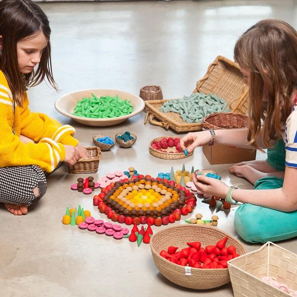 Grapat mandala spelen