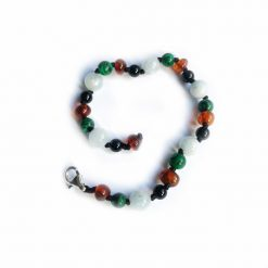 armband-barnsteen-onyx-aquamarijn-malachiet