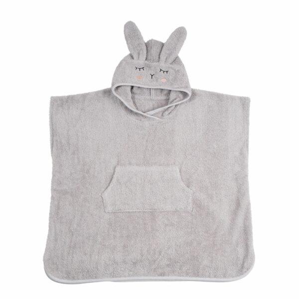 kikadu-poncho-konijn-grijs