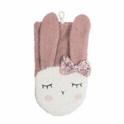 kikadu-washandje-konijn-roze