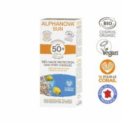 BIO SPF 50 allergische gevoelige huid - waterproof tinted