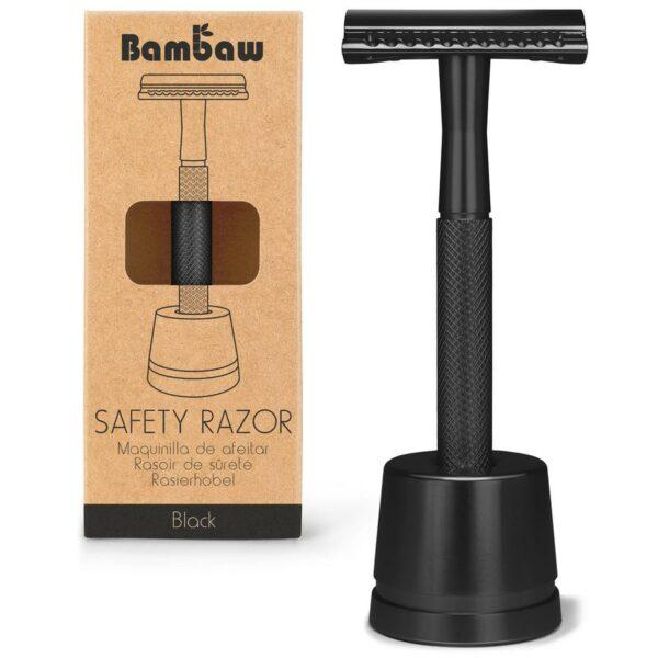 Bambaw veiligheidsscheermes + houder