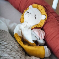 kikadu towel doll leeuw groot