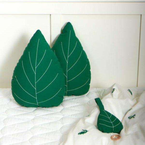 roommate green leaf kussen