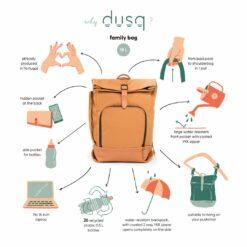 dusq family bag uitleg