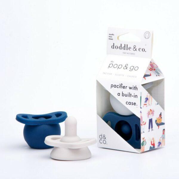 doddle & Co pop & go navy cream