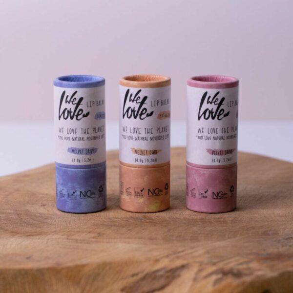 we love the planet lip balm velvet