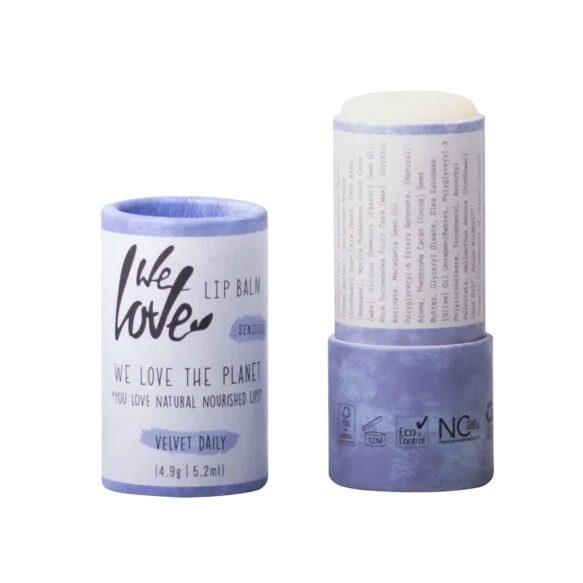 we love the planet lip balm velvet daily