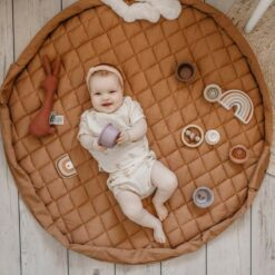 Play & Go Babymatje/Opbergzak Tawny Bruin